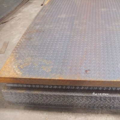 Rough steel plate