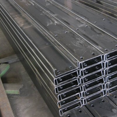 Steel purlins U, C, Z